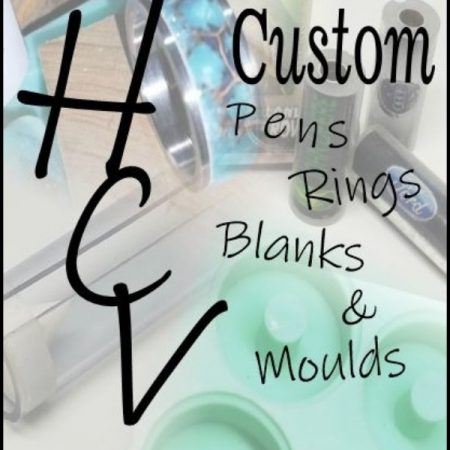 HCV Custom Pens Rings Blanks & Moulds
